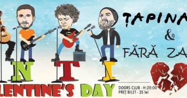 Concert Anti-Valentine's Day, în Club Doors