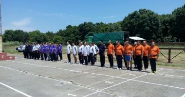 Concurs �ntre pompierii const�n�eni, organizat de ISU
