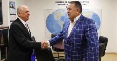 Conducerea CCINA a primit vizita noului consul general al Republicii Turcia la Constanța