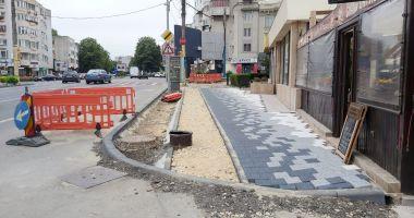Confort Urban continuă lucrările de modernizare a bulevardului Mamaia