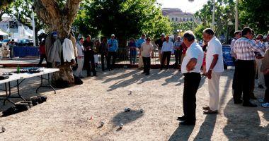 Concurs de petanque  pe plaja din Vama Veche
