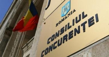 Consiliul Concurenței a sancționat 12 companii cu peste 3,29 milioane de lei