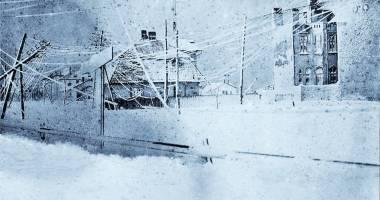 CONSTANŢA VECHE / Iarna la malul mării, în 1929