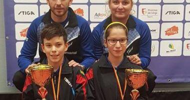 Constănţeanca Bianca Meiroşu, campioană  la Stiga Masters U14