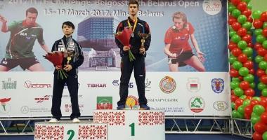 Cristian Pletea străluceşte  la Openul Belarusului