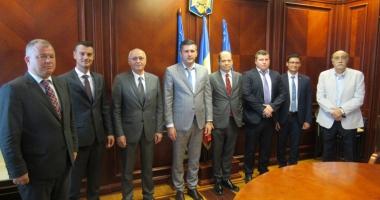 Consulii din Constanţa, întâlnire cu prefectul Ioan Albu