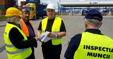 ITM. Controale la agenţii economici din portul Agigea