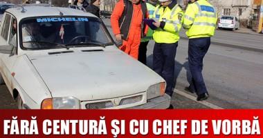 """Poliţia Rutieră a ieşit la """"vânătoare"""" prin Constanţa"""