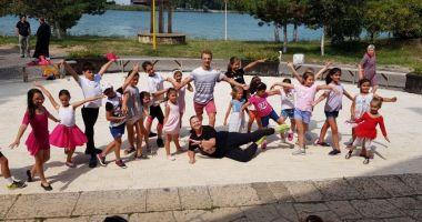Copiii finalizează cursurile Şcolii de vară