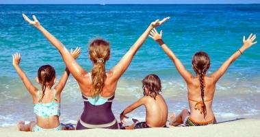 Copiii cu autism şi ADHD, activităţi la malul mării