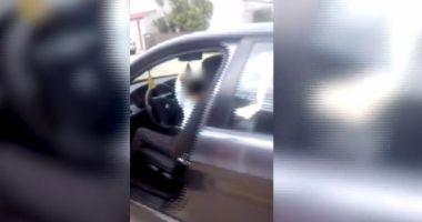 VIDEO. Copil de 10 ani, filmat în timp ce conducea