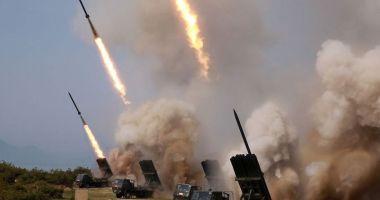 Coreea de Nord a lansat o serie de proiectile neidentificate