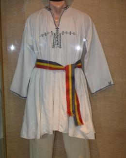 Tricolorul românesc, la loc de cinste  la Muzeul  de Artă Populară