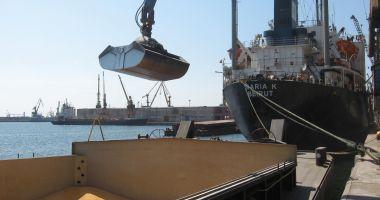 Creștere spectaculoasă a traficului de mărfuri în porturile maritime românești