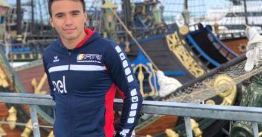 Cristian Tranulea se pregătește pentru Campionatul Național de triatlon