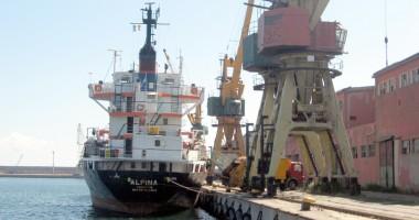 Criza din siderurgie a afectat grav porturile româneşti