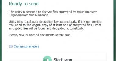 Kaspersky Lab a creat un instrument de decriptare a programului ransomware CryptXXX