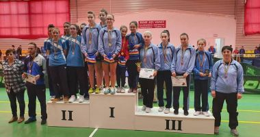 CS Farul Constanţa, campioană la Naţionalele de tenis de masă pe echipe