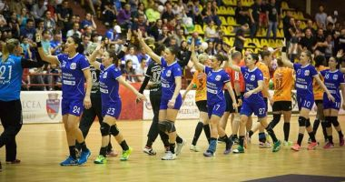 CSM Bucureşti s-a calificat în Final Four al Ligii Campionilor