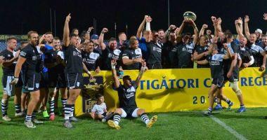 CSM Bucureşti a cucerit Cupa Regelui la rugby