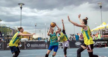 CS Phoenix, pe primul loc la Sport Arena Streetball Bucureşti