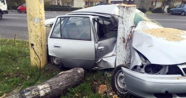Grave accidente rutiere, în week-end. O femeie şi-a pierdut viaţa