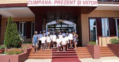 Comuna Cumpăna, gazdă pentru copii premianţi veniţi în tabăra de vară