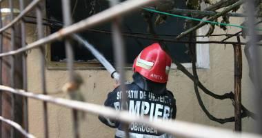 Incendiu fără victime la o gospodărie din Palazu Mare