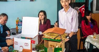 Cum şi-au imaginat casa turcească elevii din Cobadin