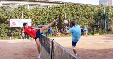 Cupa Rom�niei la fotbal-tenis, �n sta�iunea Mamaia