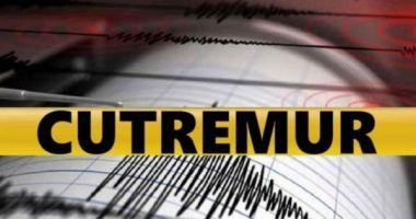 Cutremur, marţi seară, în România