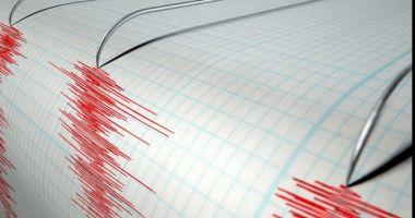 Patru cutremure s-au produs, în ultimele 12 ore, în judeţul Vrancea