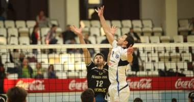 Volei masculin: CVM Tomis- ACS VM Zalău, scor general 2-1, în finala campionatului