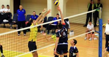 Volei masculin: CVM Tomis a obținut prima victorie din campionat