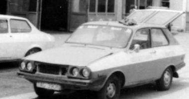 Galerie foto / Vă mai aduceţi aminte de Dacia 1300 diesel? Maşina arăta de parcă au uitat s-o termine de construit