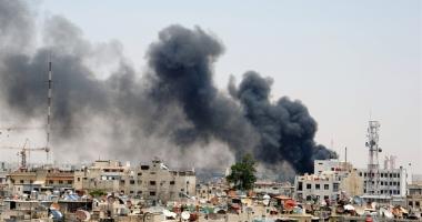 Damascul, zguduit  de explozii  violente