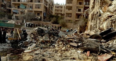 Bombardamente lângă Damasc. 22 de morţi şi 67 de răniţi