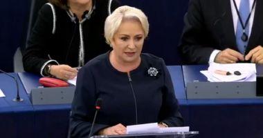 Dăncilă va prezenta în Parlamentul European prioritățile Președinției României la Consiliul UE