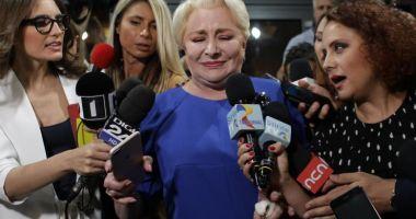 Viorica Dăncilă: Nu demisionez!
