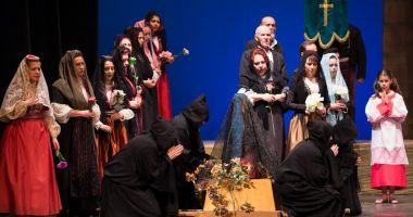 """Ultimul spectacol  al stagiunii lunii aprilie,  la Teatrul """"Oleg Danovski"""""""