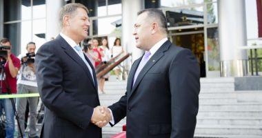 Summitul Iniţiativei celor Trei Mări. Klaus Iohannis şi Mihai Daraban au deschis Forumul de Afaceri