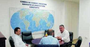 Consulul General al Republicii Turcia la Constanţa, vizită de sfârşit de mandat la președintele CCIR, Mihai Daraban