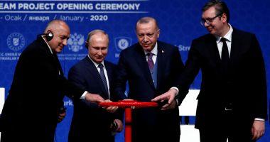 Parteneriat istoric! Putin și Erdogan controlează piața gazelor