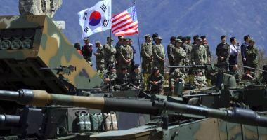 Debutul manevrelor militare comune Washington-Seul,  în plină perioadă de dezgheţ