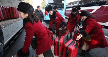 Delegaţia Coreei de Nord a sosit în Coreea de Sud