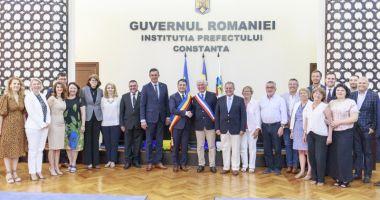Delegaţie franceză, în vizită  la Consiliul Judeţean