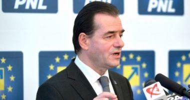 Ludovic Orban: Am decis să depunem o moţiune împotriva ministrului Finanţelor
