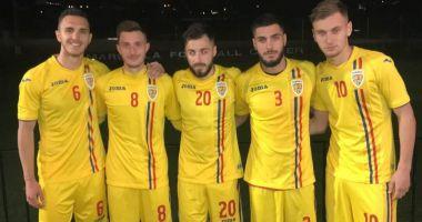 """Denis Drăguş aduce victoria """"tineretului"""" în amicalul cu Danemarca U20"""