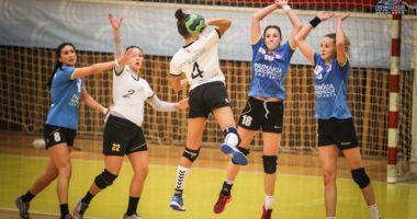 Derby-ul ligii secunde la handbal feminin, duminică, la Sala Sporturilor