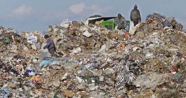 Taxa pentru depozitarea deşeurilor, în vigoare de săptămâna aceasta